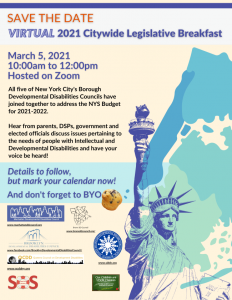 Virtual Citywide Legislative Breakfast