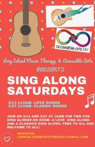 Sing Along Saturdays