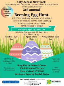BEEPING EGG HUNT ! City Access New York