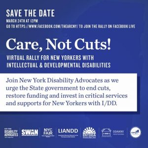Virtual Rally - Care NOT Cuts!